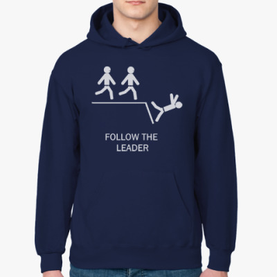 Толстовка худи Follow the leader