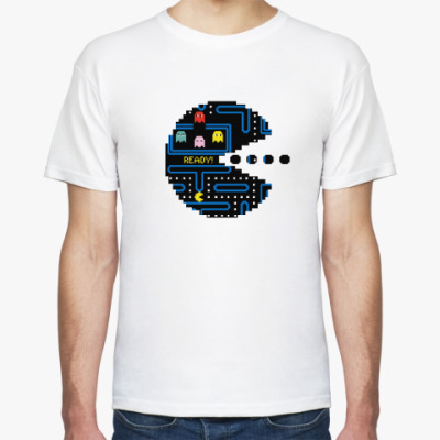 Pac-Man. PacMan. ПакМан. ПакМен. Pixels. Ready!