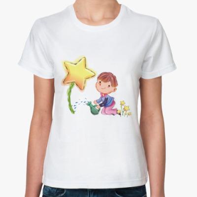 Классическая футболка Boy star