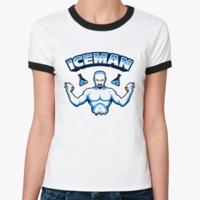 Женская футболка Ringer-T Iceman