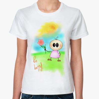 Классическая футболка 'Бебешка'