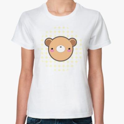 Классическая футболка 'Kuma-chan'