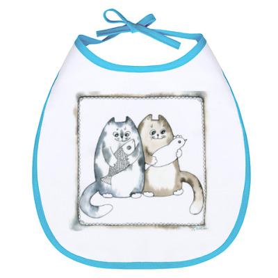 Слюнявчик Благополучные коты