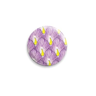 Значок 25мм  Iris