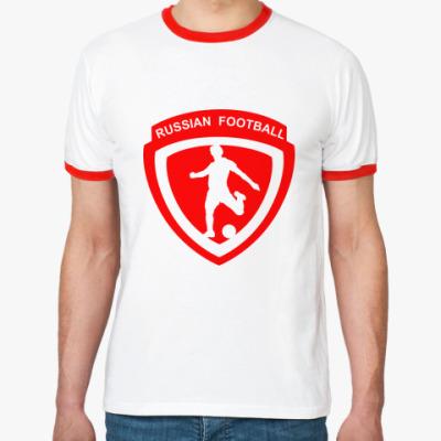 Футболка Ringer-T Российский футбол