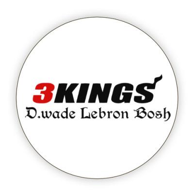 Костер (подставка под кружку) Три короля