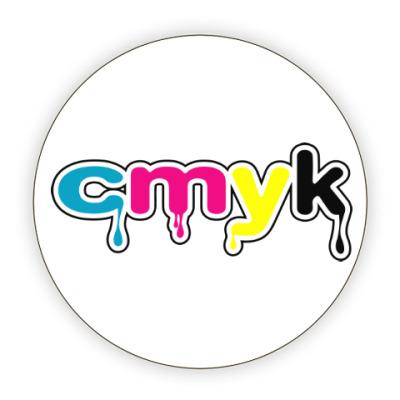 Костер (подставка под кружку) CMYK