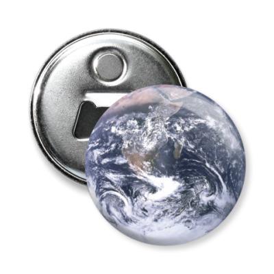 Магнит-открывашка Планета Земля