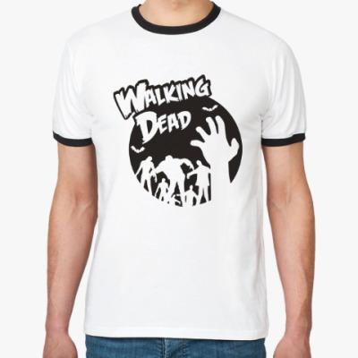 Футболка Ringer-T Ходячие мертвецы
