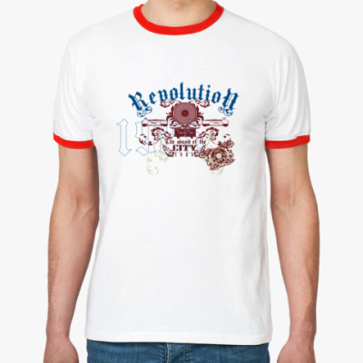 Футболка Ringer-T Revolution