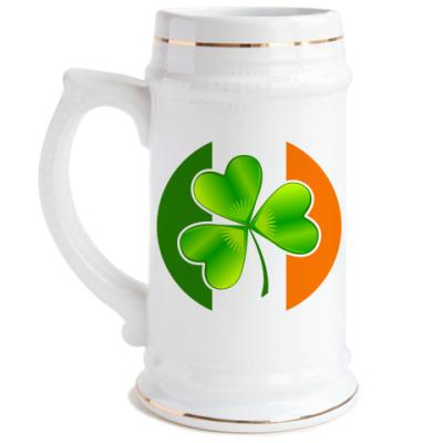 Пивная кружка Irish team