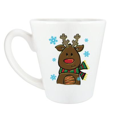 Чашка Латте Маленький олень