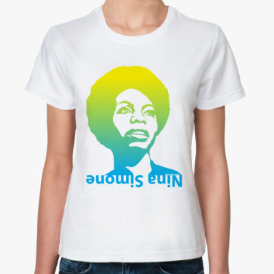Классическая футболка Nina Simone