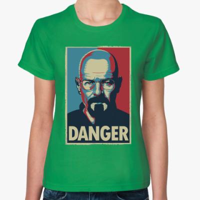 Женская футболка Walter danger