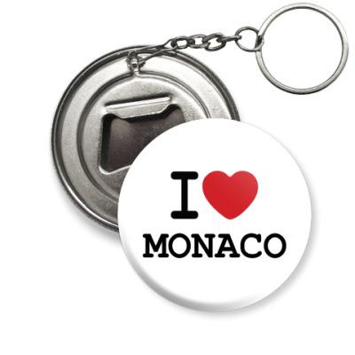 Брелок-открывашка  Love Monaco