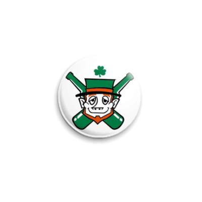 Значок 25мм  'Ирландец'