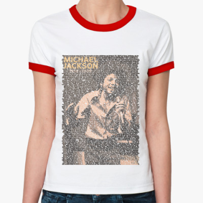 Женская футболка Ringer-T Jackson5