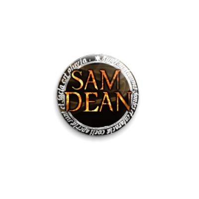 Значок 25мм Sam/Dean (SPN31)