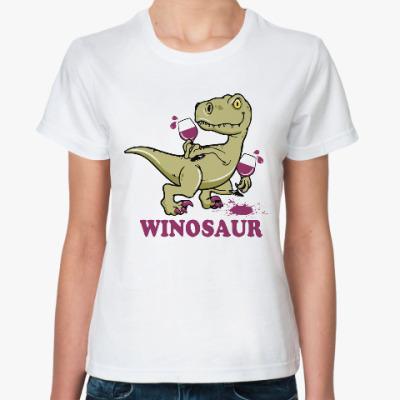 Классическая футболка Винозавр