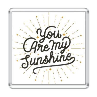 Магнит Ты - мое солнце!
