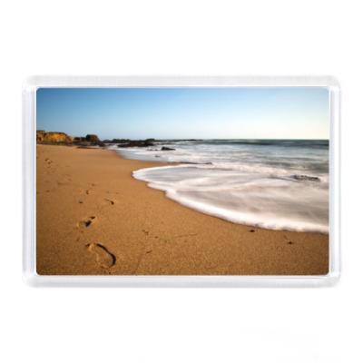 Магнит Море, солнце, пляж