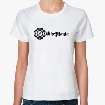 Классическая футболка BikeManiaXsign