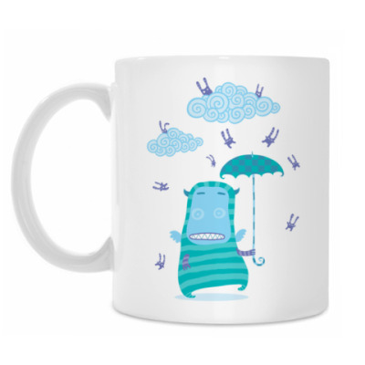 Кружка It's Raining Rabbits