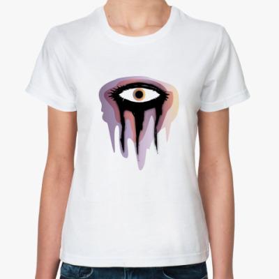 Классическая футболка  Тушь
