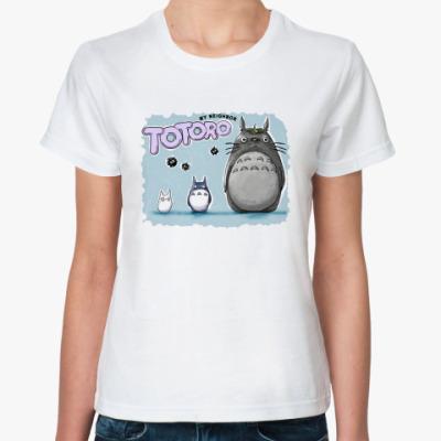 Классическая футболка Тоторо 1.1.1