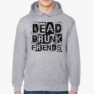 Толстовка худи Dead Drunk Friends