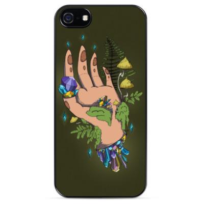 Чехол для iPhone Crystal Hand