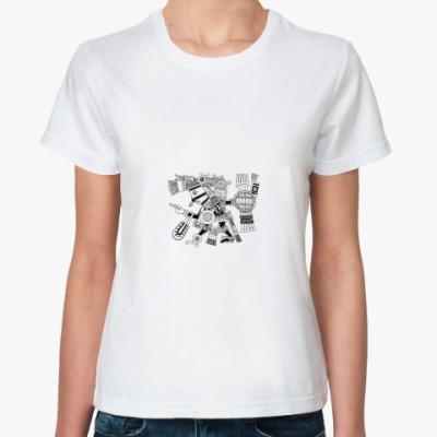 Классическая футболка «Тескатлипока»