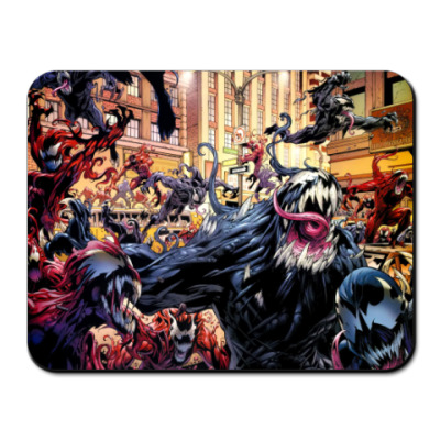 Коврик для мыши Venom and Carnage