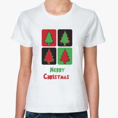 Классическая футболка  Christmas
