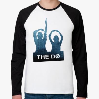 Футболка реглан с длинным рукавом The Dø