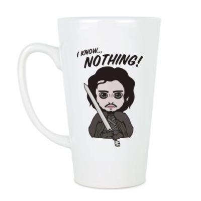 Чашка Латте Я ничего не знаю