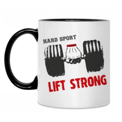 Кружка Hard sport - Lift Strong