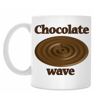 Кружка Chocolate wave