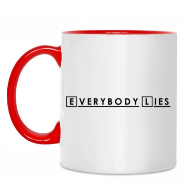 Кружка Everybody Lies