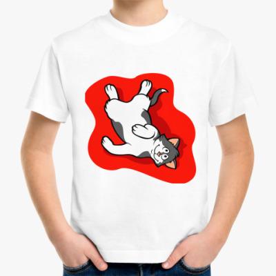 Детская футболка Эти веселые коты