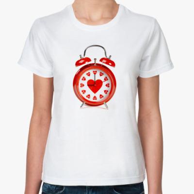 Классическая футболка Время любить