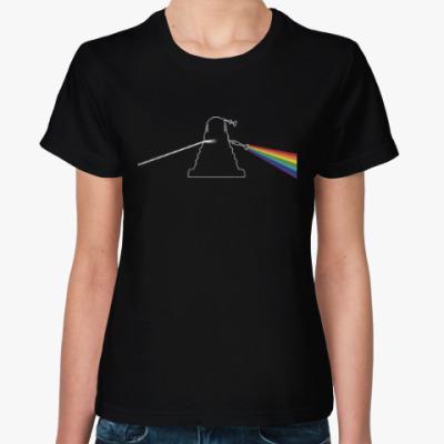 Женская футболка Dalek Floyd