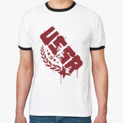Футболка Ringer-T USSR