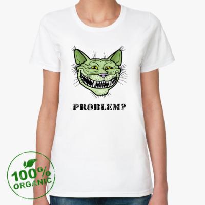 Женская футболка из органик-хлопка Кото-тролль Кото-тролль, troll