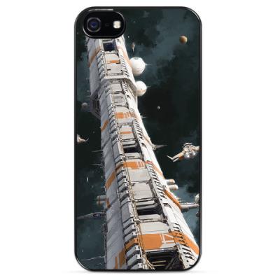Чехол для iPhone Космическая станция