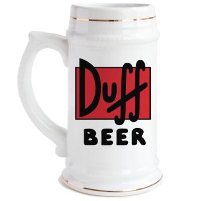 Пивная кружка Duff beer