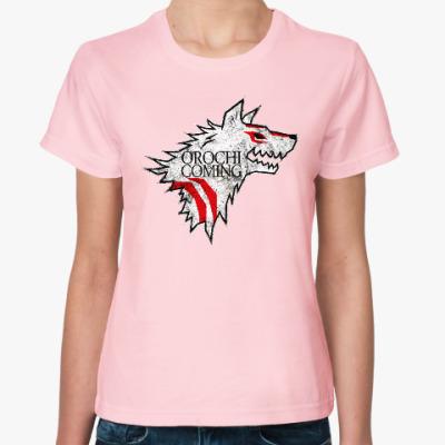 Женская футболка Okami