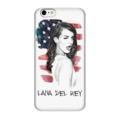 Чехол для iPhone 6/6s Lana Del Rey