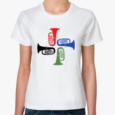 Классическая футболка Туб-Туба!
