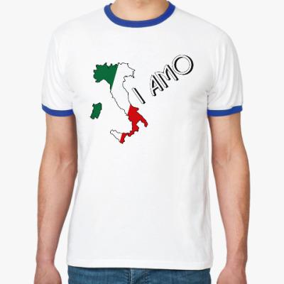 Футболка Ringer-T Я люблю тебя по-итальянски